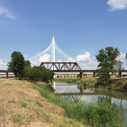 Margaret Hunt Hill Bridge at Trinity River