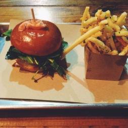 The Ahi Tuna Burger