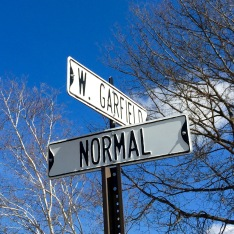 We all strive for normal.