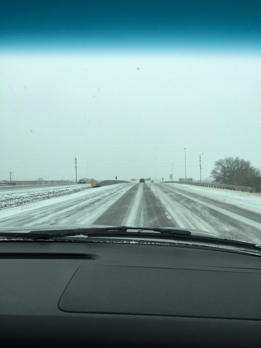 Not a fun drive.