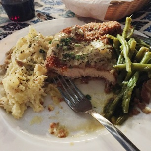 Crispy Chicken with heavenly Green Beans