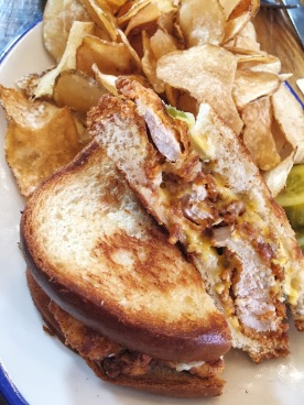 Hot Chicken and Cheese - Nashville Hot Chicken Grilled Cheese