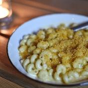 Cheez-it encrusted Mac n Cheese