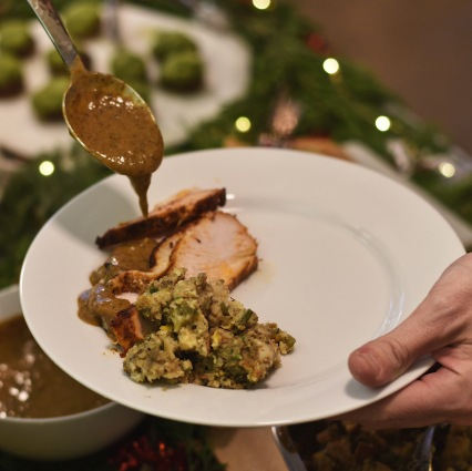 Top 3 gravy's I've ever had - seriously, Black Pepper and Sage gravy: Traditional turkey gravy made with fresh sage, spices and black pepper.